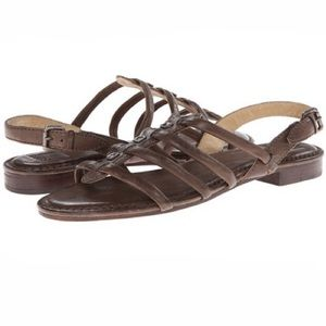 Frye Phillip Square stud sandals